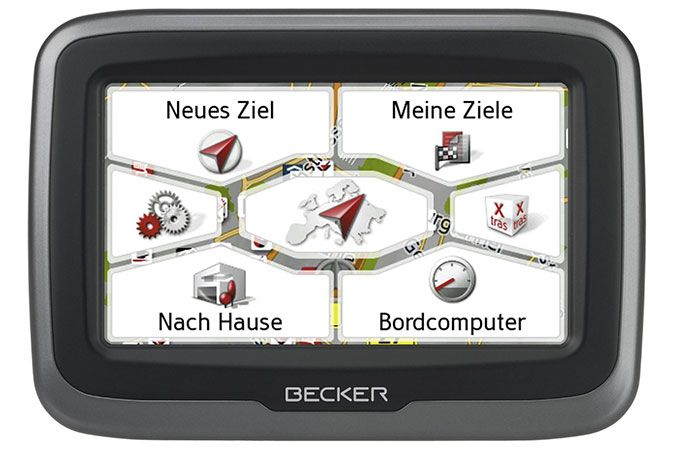 Becker Mamba.4 CE LMU – Navigation für Motorrad für 249,90€ (statt 324€)
