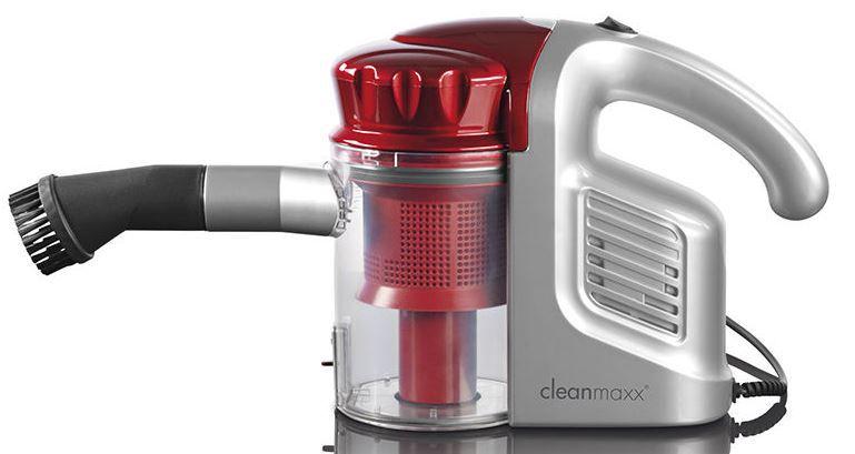 cleanmaxx Zyklon Handstaubsauger cleanmaxx Zyklon Handstaubsauger Multi Sensation (B Ware) für 39,99€ (statt 50€)