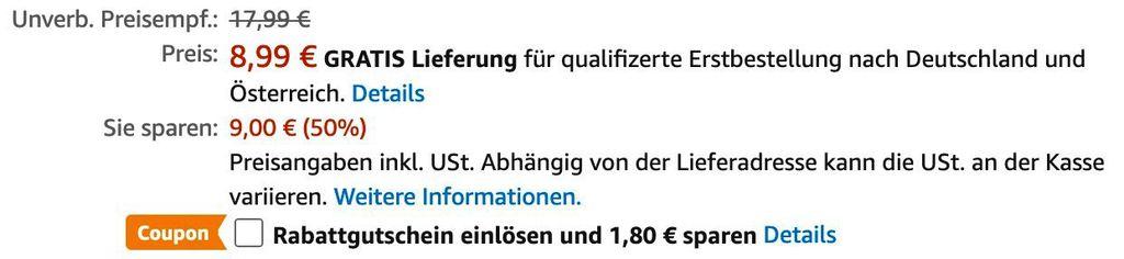 Emsa Isolierkanne 1 Liter ab 7,19€ (statt 15€)