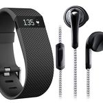 Fitbit Charge HR Fitnessarmband + YB IX 200 Sport Headset für 99€