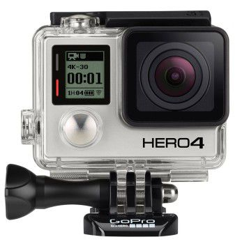GoPro HERO4 Black Edition   4K Actioncam [B Ware] für 139,90€ (statt 256€)