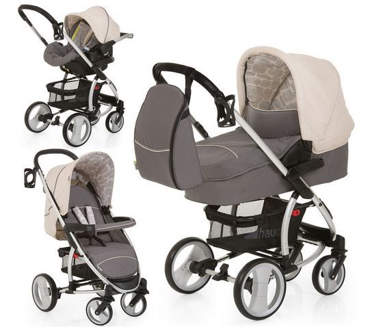 hauck Malibu XL All in One Set hauck Malibu One Rock   XL All in One Kinderwagen Set für 289,99€