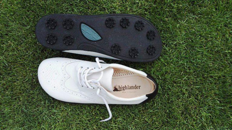 highländer Schuhe und Bekleidung für den Golf Sport ab 3,99€