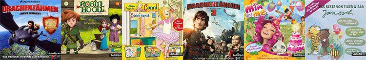 Amazon: 3 Kinder Hörspiel CDs für 12 EUR