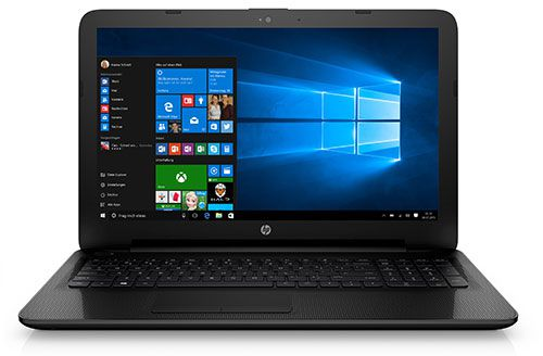 HP 15 ac155ng Notebook (15,6 Full HD, Intel Pentium Quad Core, 4GB, 128GB SSD, Win10) für 306,99€ statt 399€