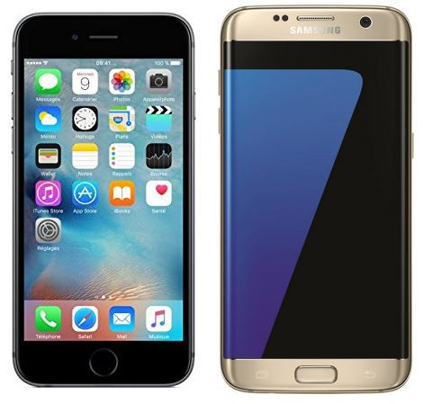 Samsung Galaxy S7 Edge oder Apple iPhone 6s 64GB + O2 Allnet + SMS + 5GB Daten Flat ab 39,99€ mtl.