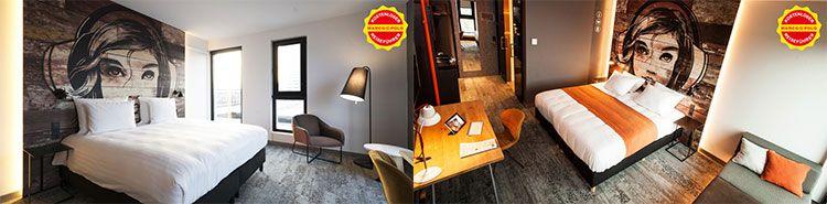 jaz hotel amsterdam zimmer 2 Tage Amsterdam im 4* Design Hotel mit Frühstück ab 49€ p.P.