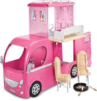 matel barbie Mattel Barbie CJT42 – Super Ferien Camper für 71,99€ (statt 80€)