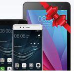 Huawei P9 Smartphone – MediaPad T1 7.0 WiFi mit AllNet Flat ab 19,48€/mtl.