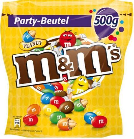 M&Ms Peanuts 2KG ab nur 15,26€