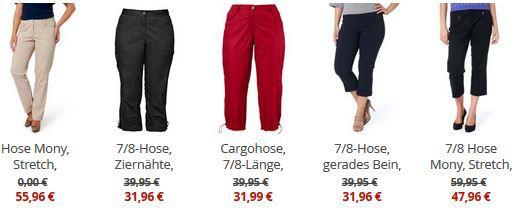 Ulla Popken   20% Rabatt auf ausgewählte Kleidung + 10€ Gutschein (MBW 39,90€)