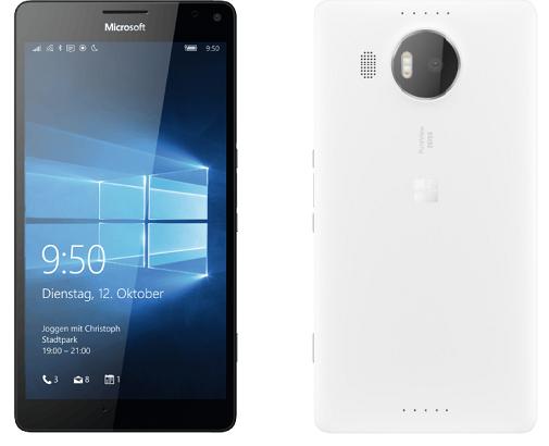 s l1600 Nokia Lumia 950 XL   5,7 Zoll Windows 10 Smartphone in Weiß für 319€
