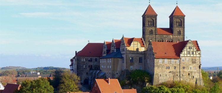 schlosshotel ballenstedt aussen 3 Tage im Harz in einem 4* Schlosshotel inkl. Frühstück, Massage und Wellness ab 109€ p.P.