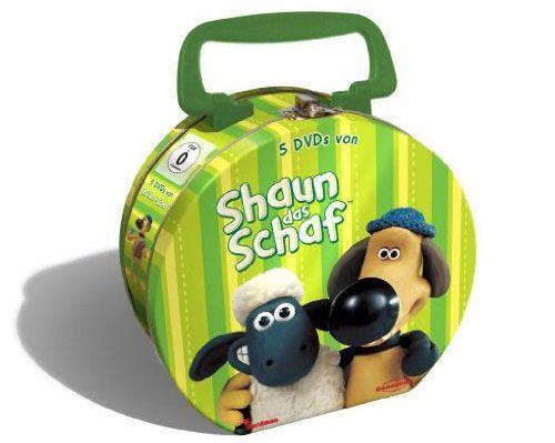 shaun Shaun das Schaf   Limitierte Lunch Box (5 DVDs) für 23,99€