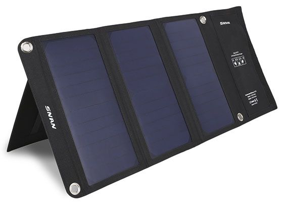 snan SNAN 21W Solar Ladegerät mit 5V/2A für 39,99€ (statt 50€)