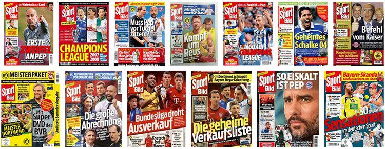 sportbild cover 52 Ausgaben Sport Bild für 39,95€ (statt 114,40€)