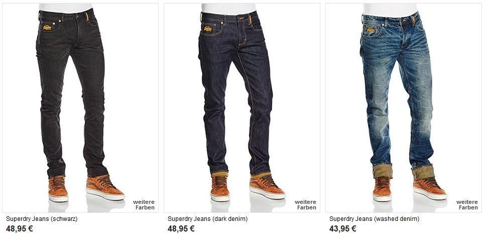 superdry Jeans SUPERDRY Sale mit Rabatten bis zu 60%