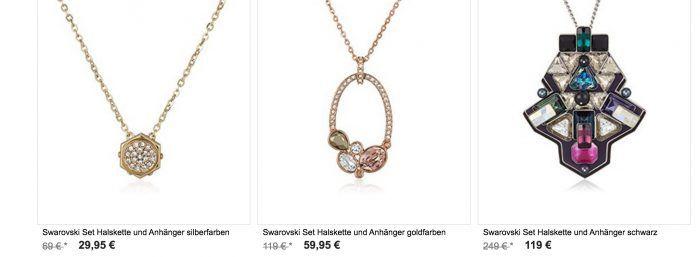 Swarovski SALE mit bis 60% Rabatt auf Schmuck, Armbänder & Halsketten ab 49,95€