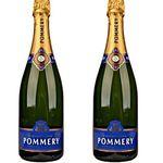 2 Flaschen Pommery Brut Royal Champagner für 54€ (statt 58€)