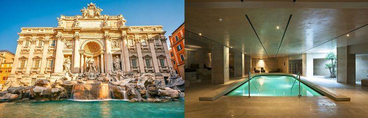 11 2 4 Nächte Rom im 4* Hotel inkl. Flügen, Frühstück & Wellness ab 129€ p.P.