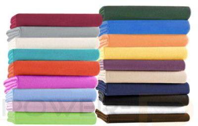 Jersey Spannbettlaken in verschiedenen Farben und Größen ab 7,83€