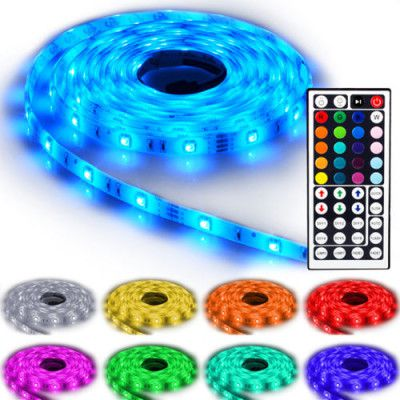 125 e1474098103107 NINETEC Flash30   5m RGB LED Strip für 17,99€ (statt 24€)