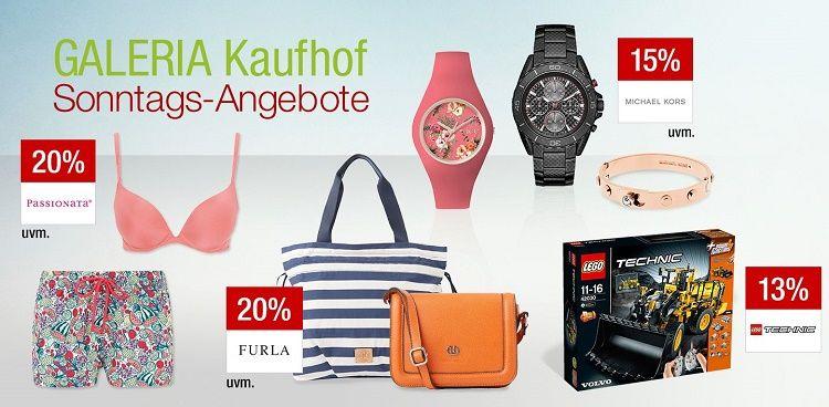 1493359 20% auf Wäsche und mehr Galeria Kaufhof Sonntagsangebote