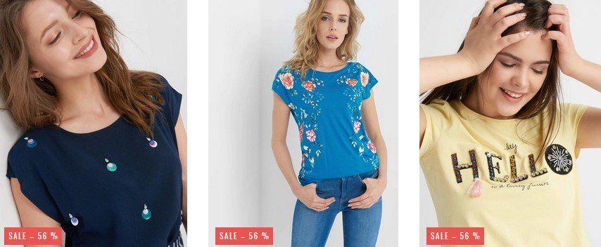 Orsay: 30% EXTRA Rabatt auf bereits reduzierte T Shirts & Blusen