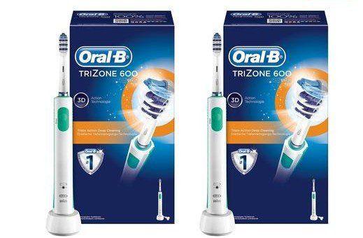 Duo Pack Oral B TriZone 600 für 44,95€ (statt 48,90€)