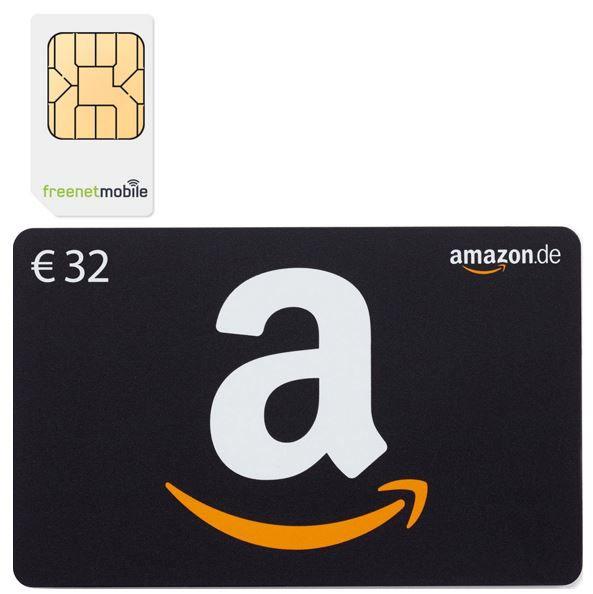 32 Amazon Gutschein freenetMobile DUO SIM Karten + 32€ Amazon Gutschein für 3,90€