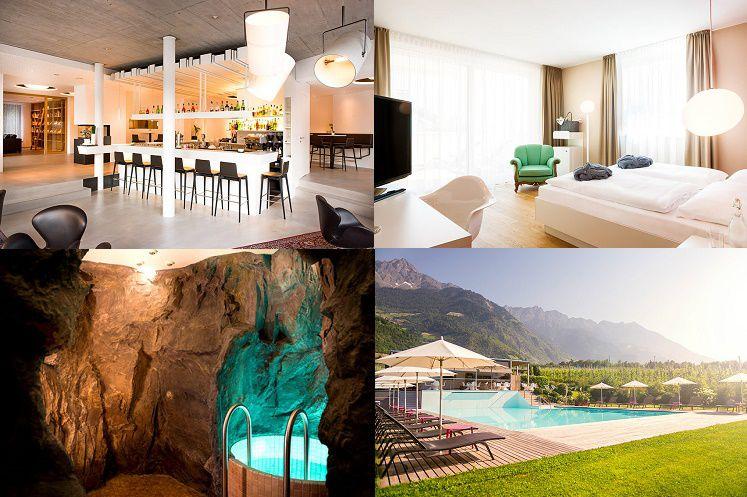 333 3 Tage im 4 Sterne Hotel bei Meran mit Halbpension & Wellness ab 161€ p. P.