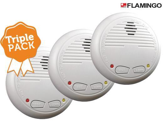 3x elro rauchmelder 3er Pack Flamingo FA21RF für 38,90€ (statt 52€)