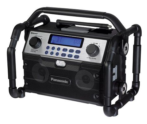Baustellenradio Panasonic EY 37A2 B für 100€ (statt 133€)