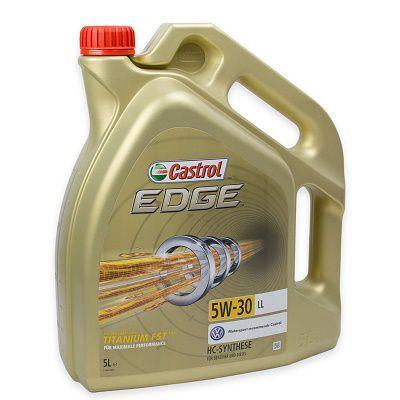 Castrol EDGE Titanium FST 5W 30 LL Motoröl 5 Liter für 34€ (statt 41€)