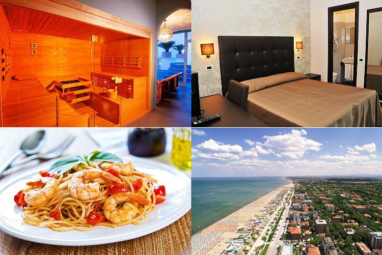 6003 4 Tage in Cesenatico mit Vollpension, Wellness & Strandnähe ab 156,45€ p.P.
