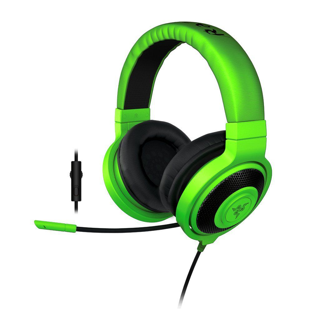 61rVU+rInjL. SL1000  Razer Kraken PRO Cuffia Gaming Headset für 49,99€ (statt 79,95€)