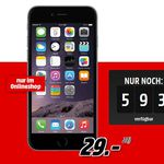 Apple iPhone 6 Plus 16GB + Vodafone Allnet + 1GB LTE ab 24€ mtl. – TOP!