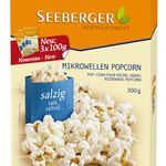 3er Pack Seeberger Mikrowellen-Popcorn Salzig für nur 5,20€ (statt 11,12€)
