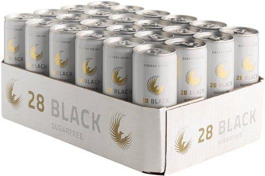 24 x 28 Black sugarfree im Blitzangebot für 23,99€ (statt 31,18€)
