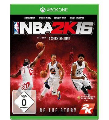 NBA 2K16 [Xbox One] für 14,99€ (statt 28,85€)