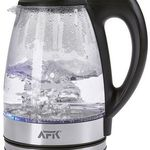 AFK GWK2200.1C – 1,7l LED Glas-Wasserkocher für 14,99€