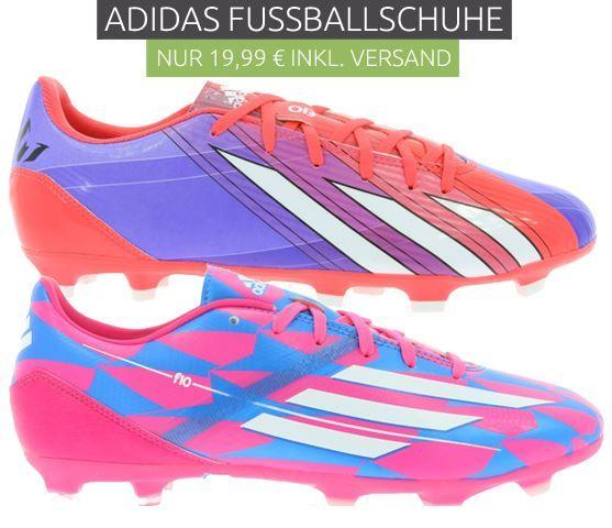 Adidas Fußballschuhe ab je Paar nur 19,46€ (statt 31€)
