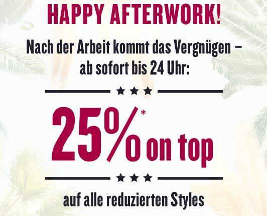 Afterwork 30% Tom Tailor Gutschein dank Umfrage   nur für das reguläre Sortiment gültig + 25% auf den Sale bis Mitternacht