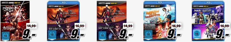 Anime Boxen Captain Tsubasa und AnimeBoxen heute günstig als Media Markt Dienstag Sale