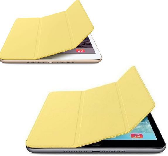 Apple Smart Cover für iPad Mini oder iPad Air gelb je 8,99€