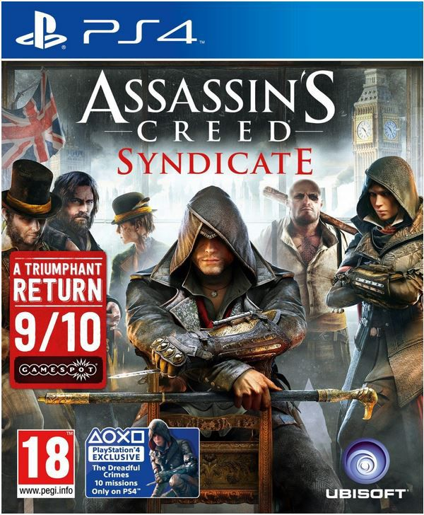 Assassins Creed Syndicate PS4 Assassins Creed Syndicate Game für PS 4 für 22,79€