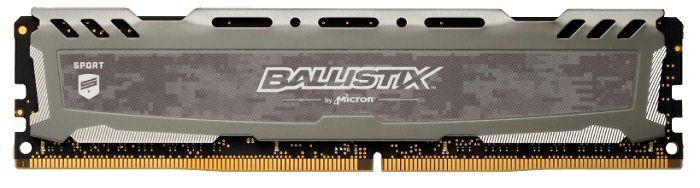 Crucial Ballistix Sport LT 8GB 2400 MHz DDR4 RAM für 29€ (statt 35€)