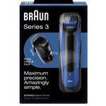 Braun BT 3050 Series 3 – blauer Akku Barttrimmer für 22€