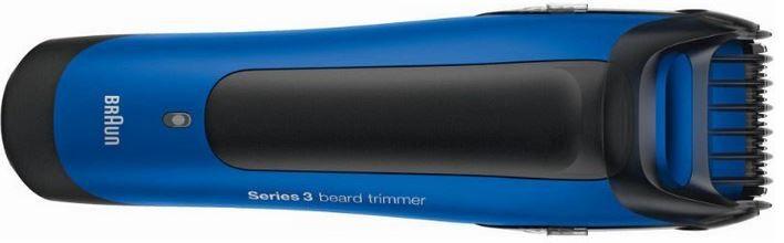 BRAUN Barttrimmer BT 3050 Braun BT 3050 Series 3   blauer Akku Barttrimmer für 25,50€