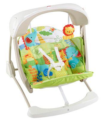 Babyschaukel Fisher Price Baby Gear 2 in 1 Babyschaukel für 63,99€ (statt 86€)